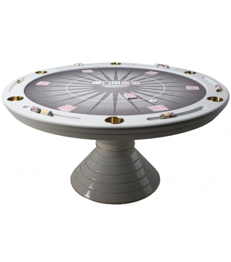 Round  Poker Table 160 Vismara Mesa de Póquer