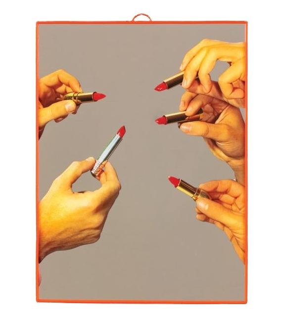Listo para entregar - Lipstick Seletti Espejo