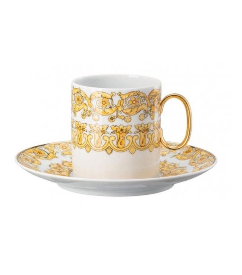 Medusa Rhapsody Rosenthal Versace Taza de Café Alta