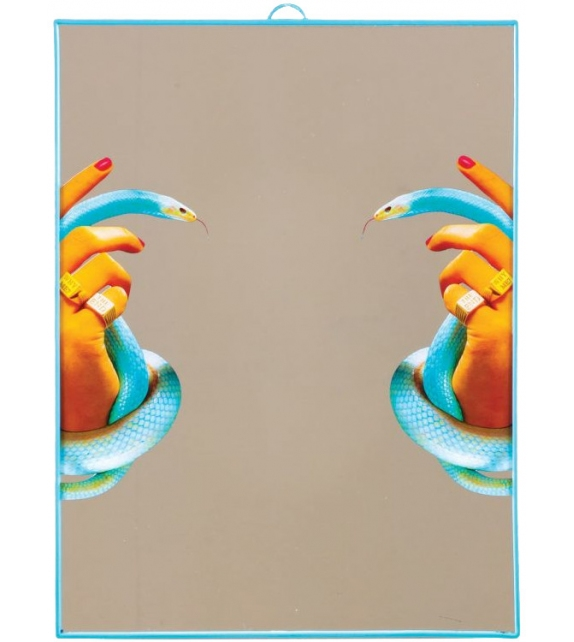 Ready for shipping - Hands with Snakes Seletti Mirror