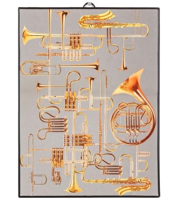 PrêtPrêt pour l'expédition - Trumpet Seletti Miroir