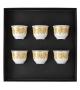 Medusa Rhapsody Rosenthal Versace Set of 6 Mugs Small w/o Handle