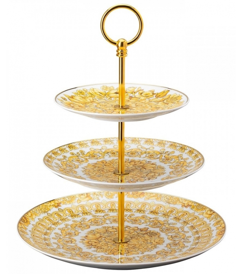 Medusa Rhapsody Rosenthal Versace Raised Bowl