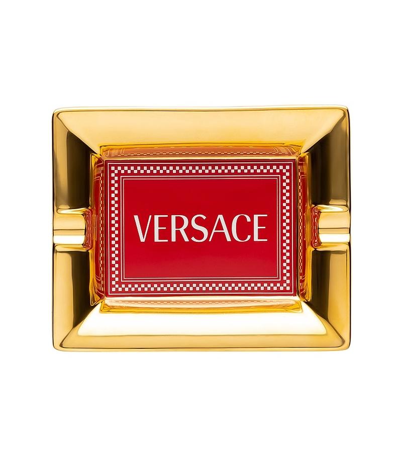 Medusa Rhapsody Red Rosenthal Versace Cendrier
