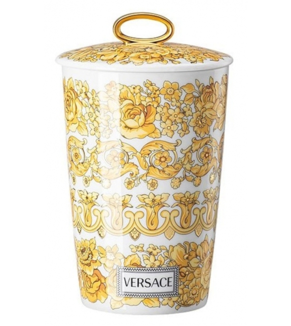 Medusa Rhapsody Rosenthal Versace Table Light with Scented Wax