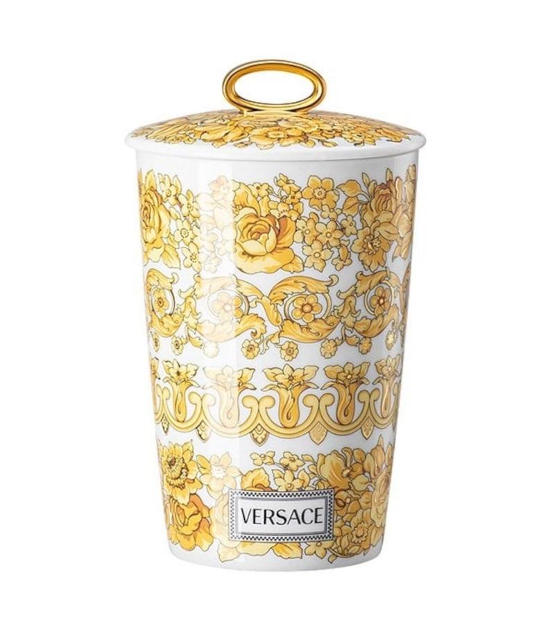 Medusa Rhapsody Rosenthal Versace Candelero con Vela Perfumada