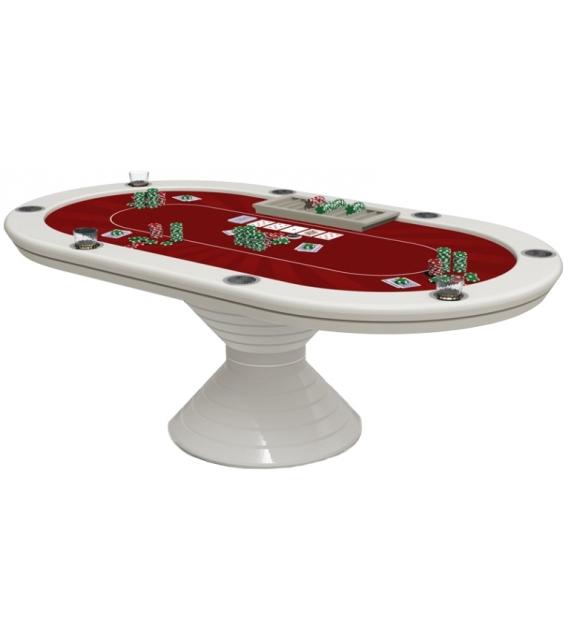 Oval Poker Table 219 Vismara Tavolo da Poker