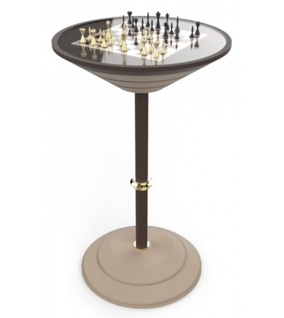 Chess Board Table Vismara Table Haute Bar D'échecs