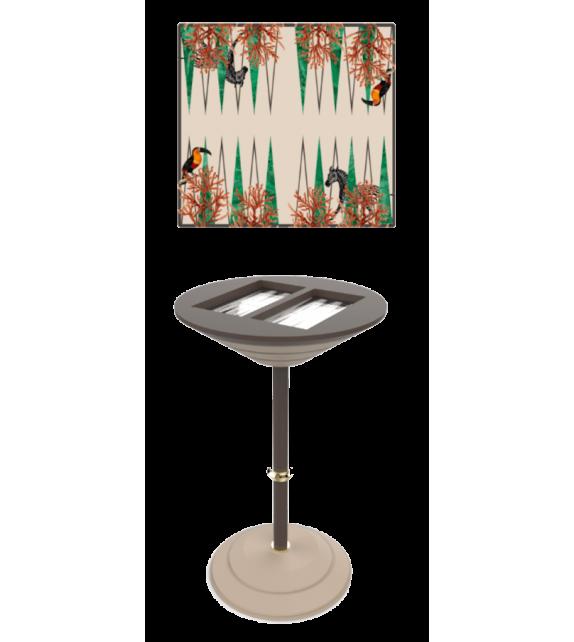 Backgammon Board  Vismara Backgammon High Bar Table