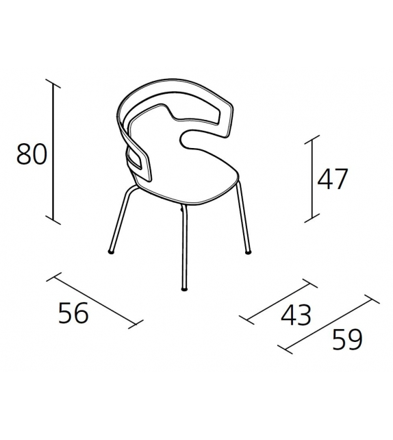segesta chair - 500
