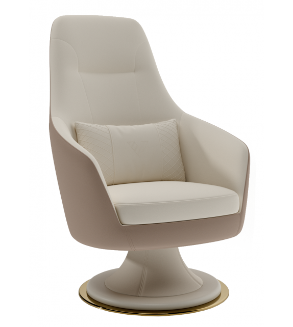 Ygritte Armchair Vismara Swivel Chair
