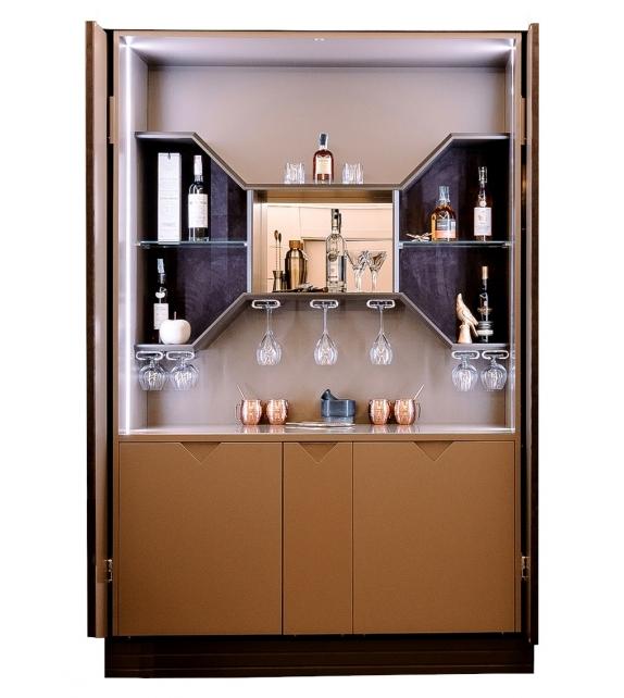 Fellini Bar Vismara Retractable Bar Cabinet