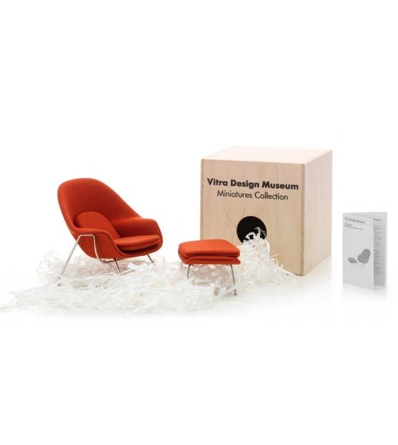 Womb chair & Ottoman, Saarinen