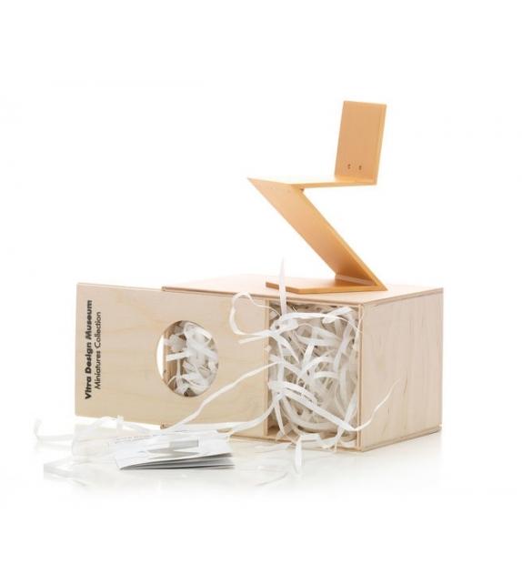 Miniature Zig Zag stoel, Rietveld