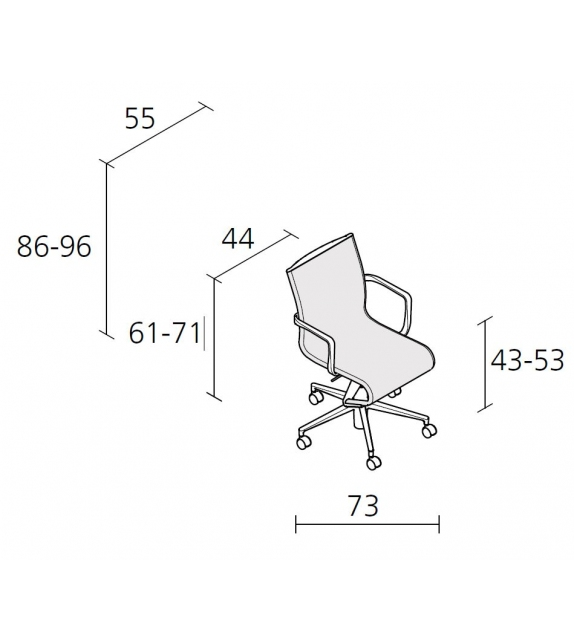 Rollingframe - 434  chaise