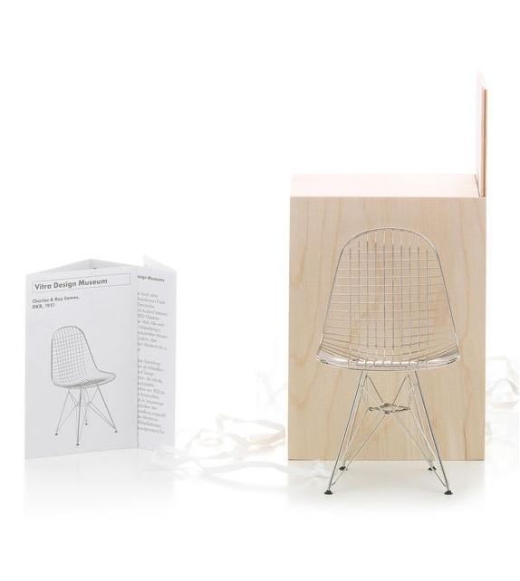 "Miniature DRK ""Wire Chair"", Eames"