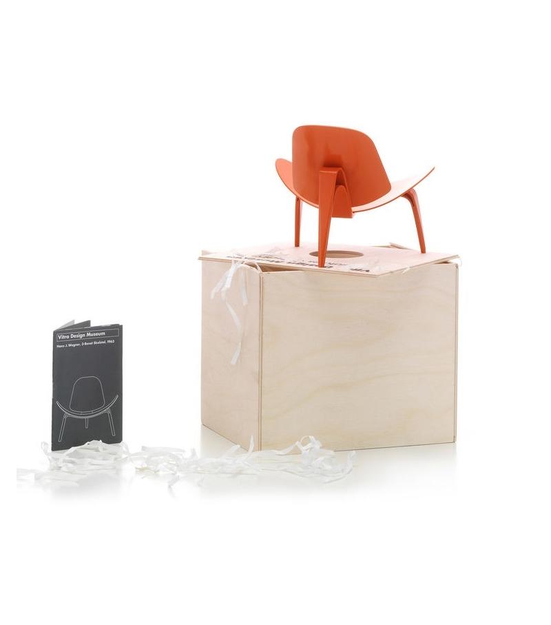 Miniature 3-Benet Skalstol, Wegner