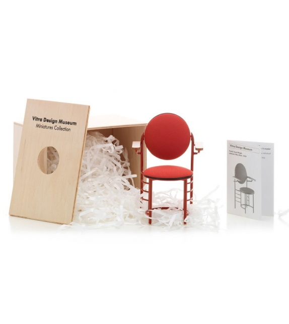 Miniature Johnson Wax chair, Wright