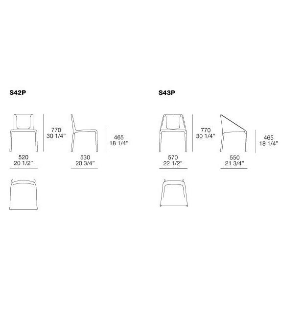 Manta Poliform Chair