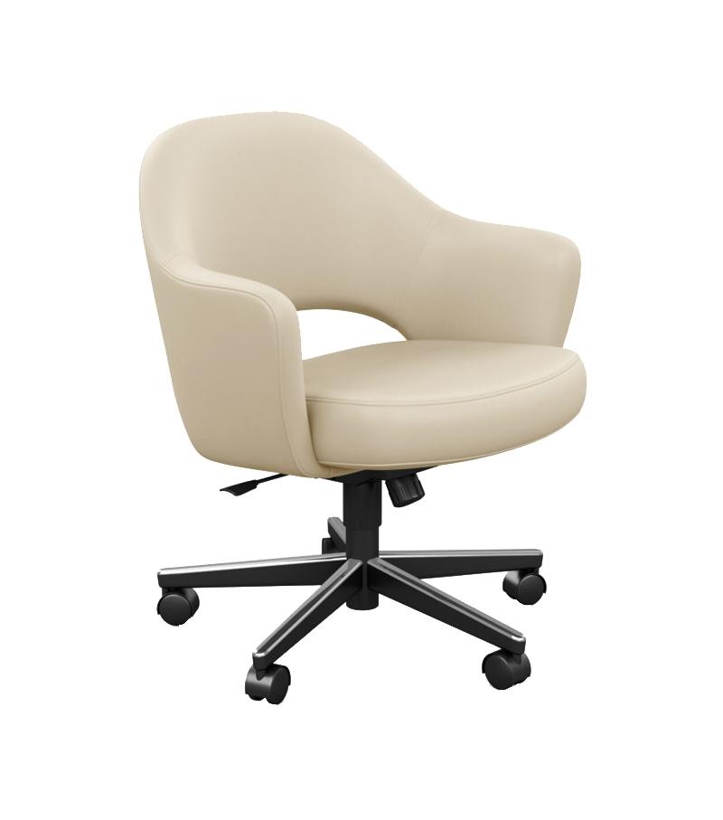 Saarinen Executive Chair with Swivel Base Knoll