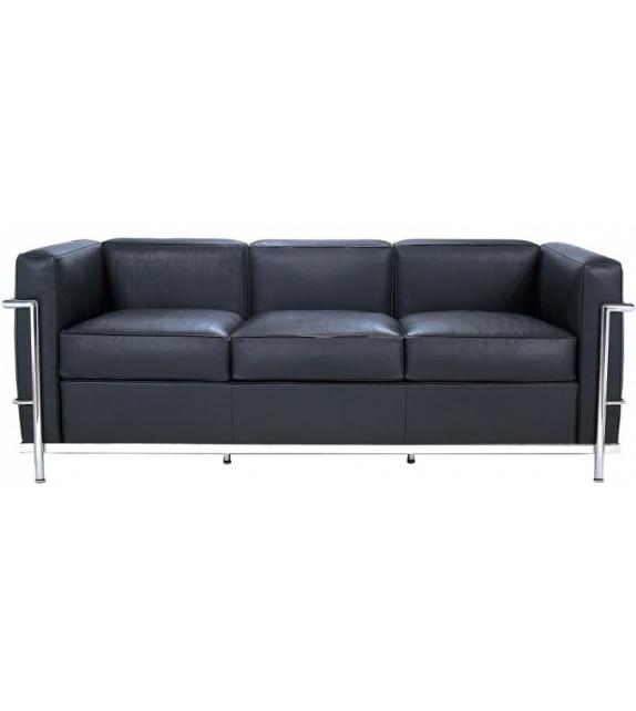 LC2 Three - Seater Sofa Cassina