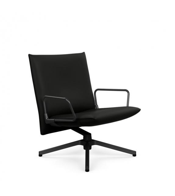 Pilot Chair Poltrona Bassa Con Braccioli Knoll