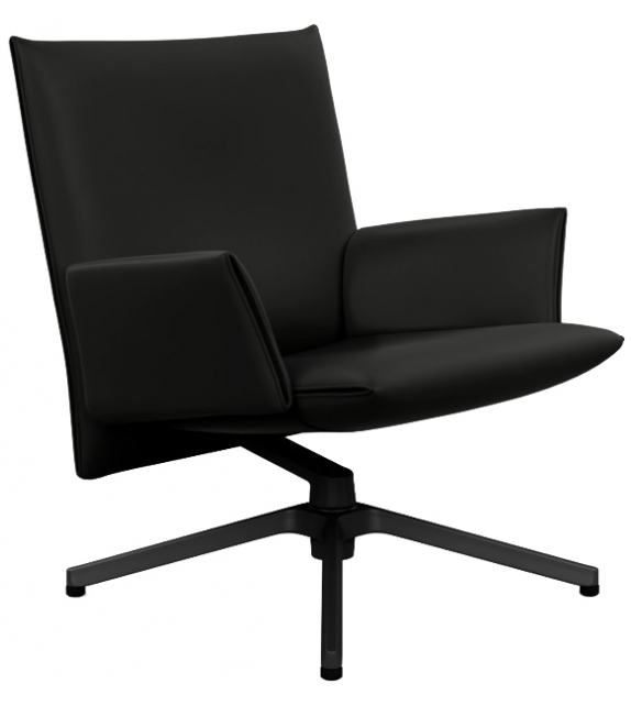 Pilot Chair Low With Armrests Knoll