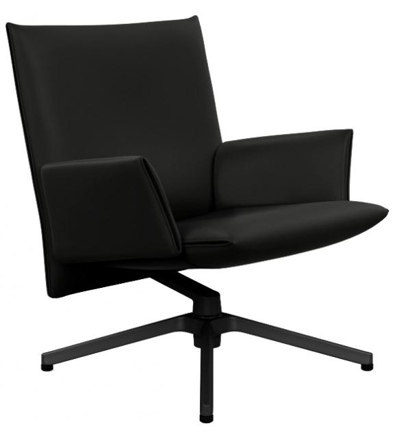 Pilot Chair Sillón Bajo Con Apoyabrazos Knoll
