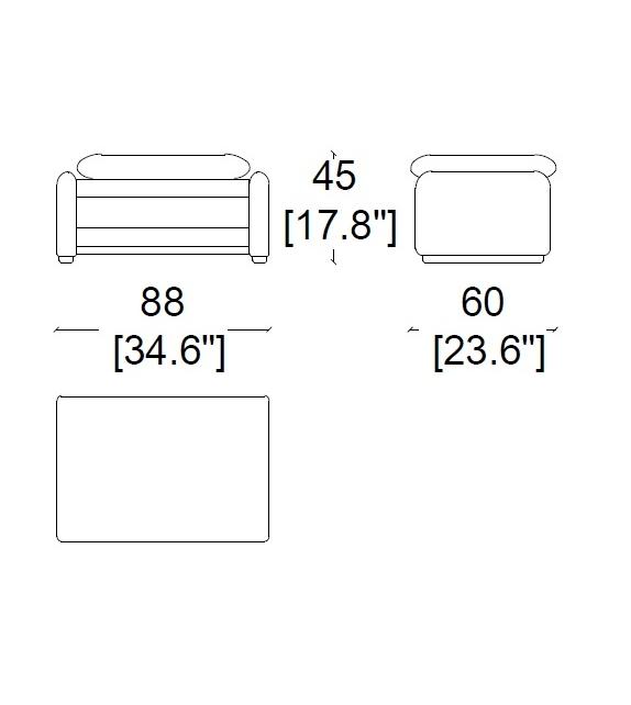 675 Maralunga pouf