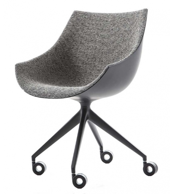 248 Passion Cassina Armchair 4 Point-Star On Castors