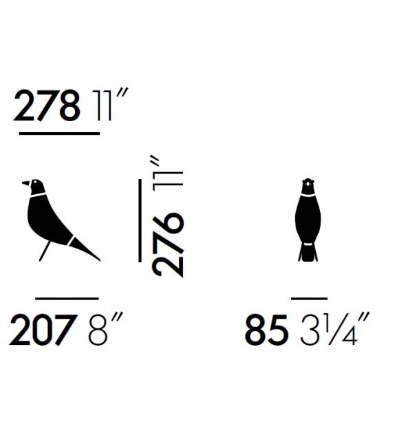 Prêt pour l'expédition - Eames House Bird Vitra Objet