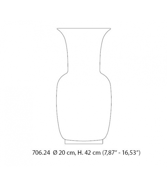 Opalino Carlo Scarpa 706.24 Venini Vaso