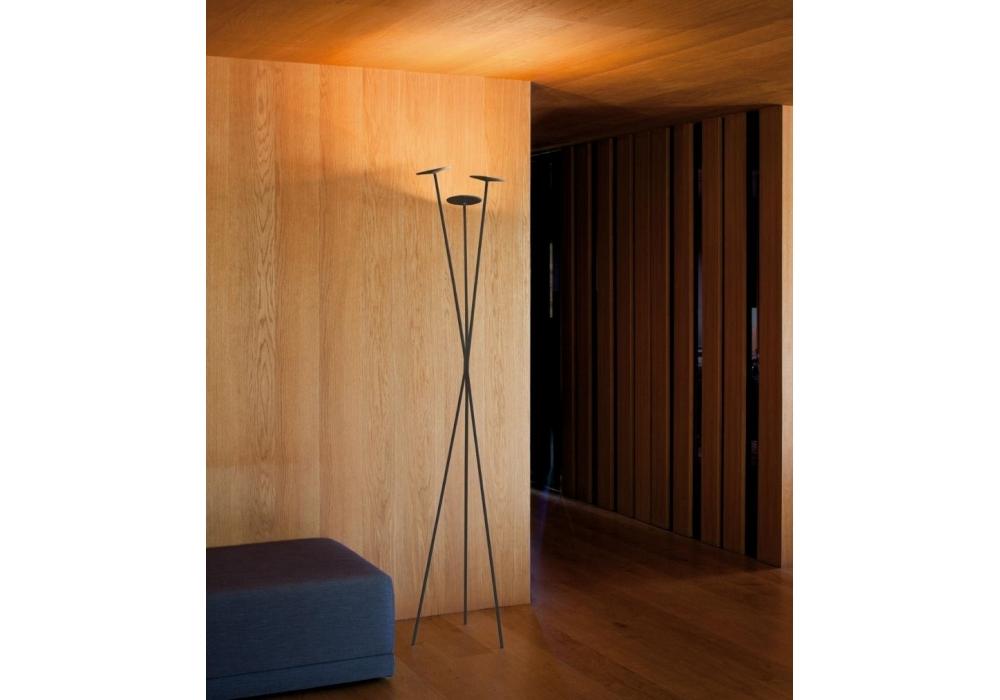 Skan 3 Led Floor Lamp Vibia Milia Shop