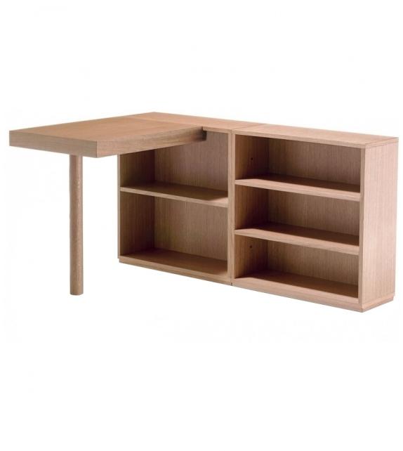 LC16 Table De Travail Avec Rayonnages Scrivania Cassina