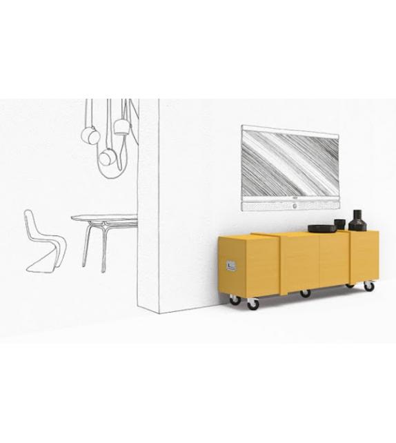 Fragile Minotti Italia Sideboard / TV Stand