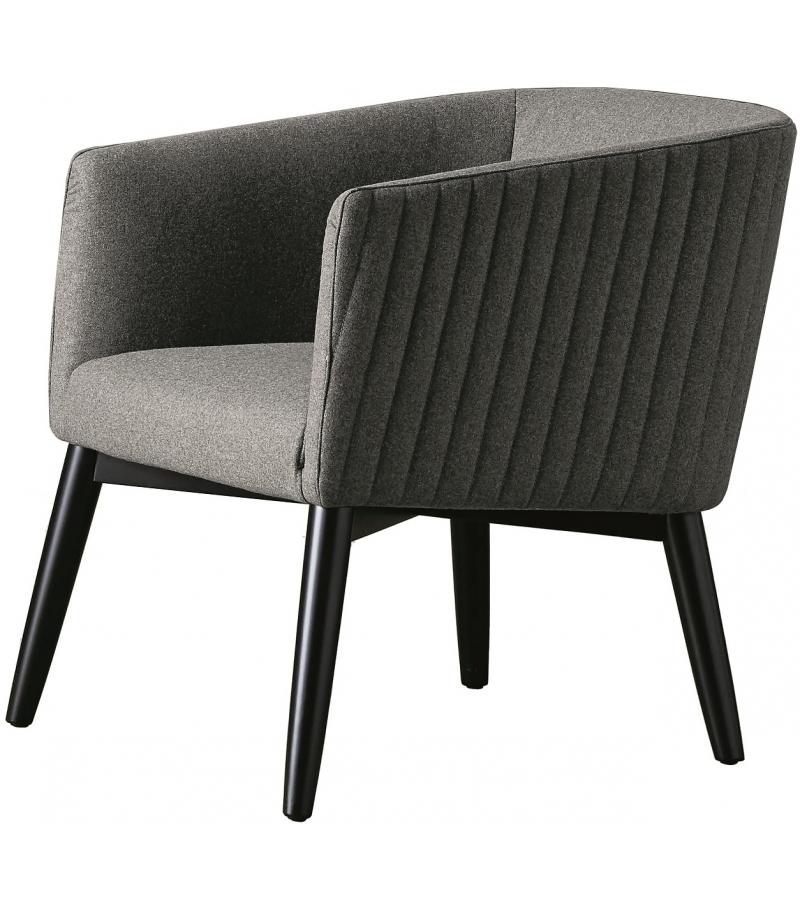 Lolyta Due Stripe Meridiani Small Armchair
