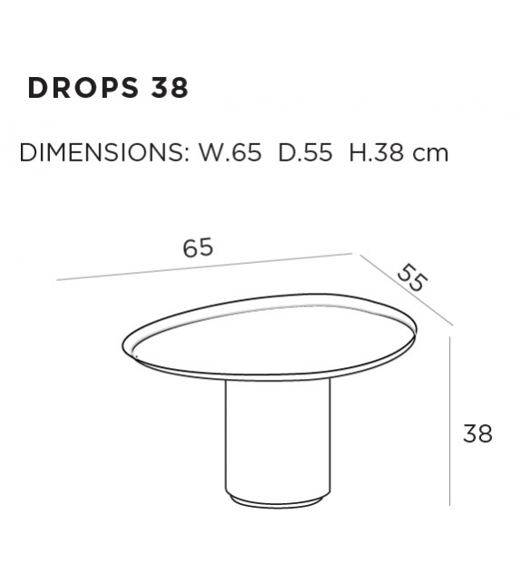 Drops DeCastelli Coffee Table