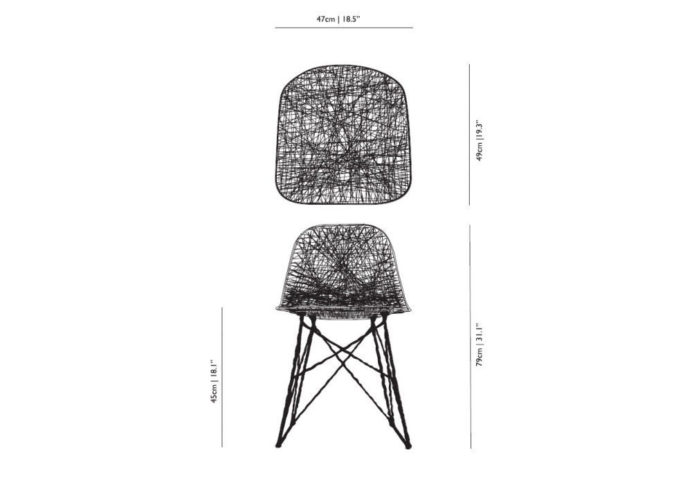 Captivating Carbon Chair Moooi