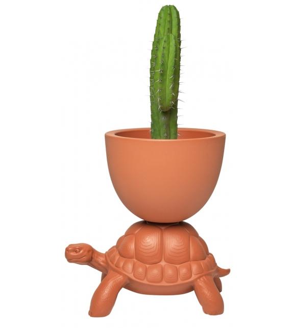 Prêt pour l'expédition - Turtle Carry Qeeboo Pot de Fleurs