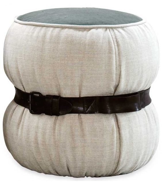 Diesel with Moroso Chubby Chic Pouf