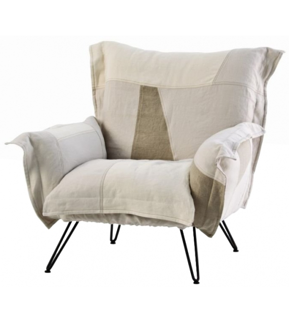 Cloudscape Chair Patchwork Fauteuil Diesel with Moroso