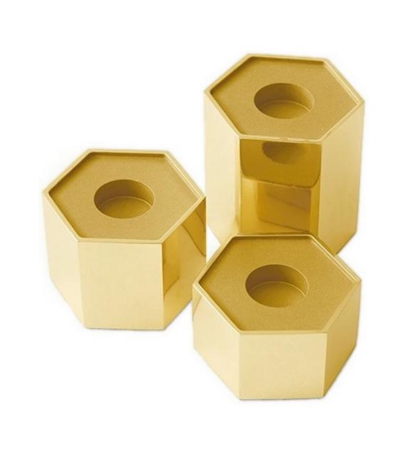 Candle Holder Hexagonal Gallotti&Radice Portacandele
