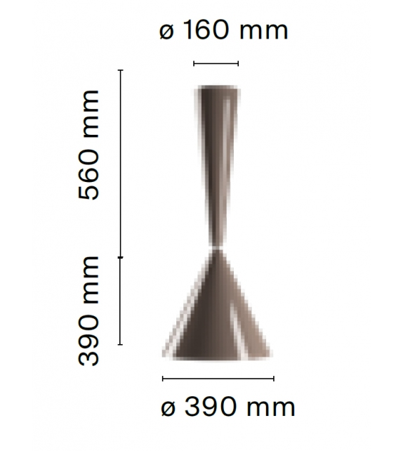 Ready for shipping - Diabolo Flos Pendant Lamp