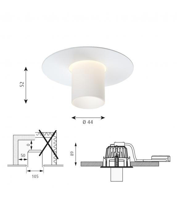 Ballerup Mini Louis Poulsen Recessed Ceiling Lamp