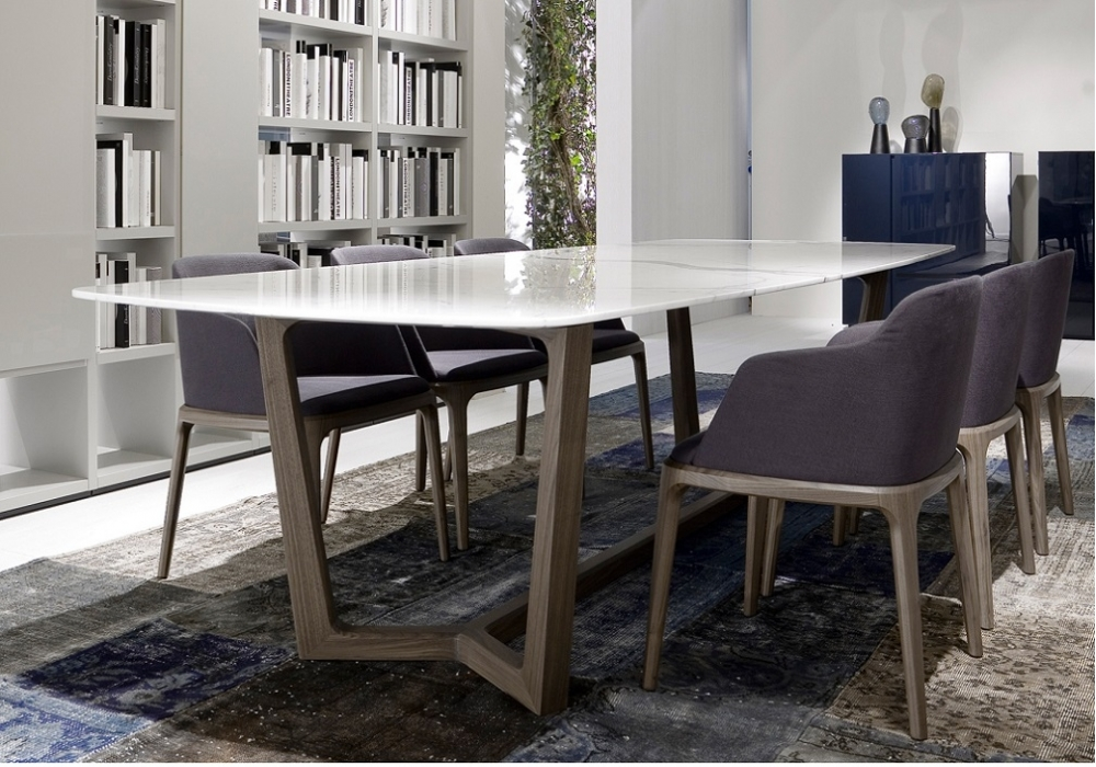 Concorde table poliform milia shop for Tavoli design low cost