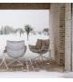 Husk B&B Italia Outdoor Armchair