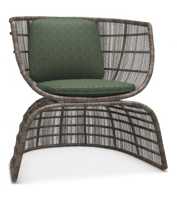 Crinoline B&B Italia Outdoor Small Armchair