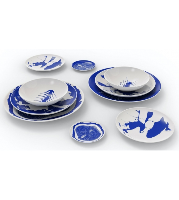 LC Porcellane C.Service Prunier Cassina Dish Set
