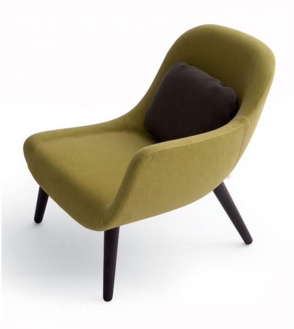 Mad Chair Armchair With Armrest Poliform