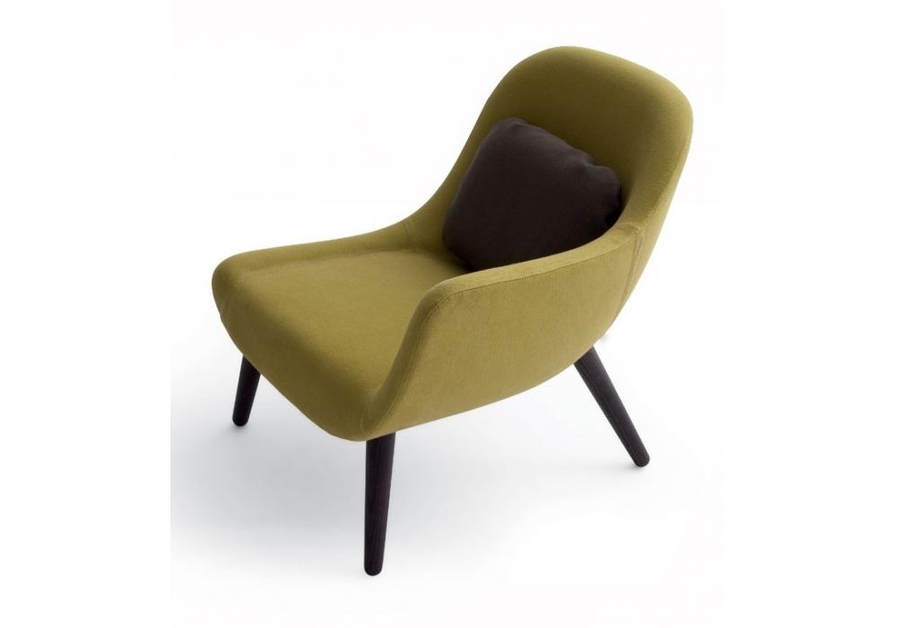 mad chair fauteuil avec accoudoir poliform milia shop. Black Bedroom Furniture Sets. Home Design Ideas